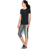 Under Armour Women's HeatGear Armour Short Sleeve T-Shirt - Black: Image 4