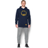 Under Armour Men's Retro Batman Triblend Hoody - Navy: Image 3