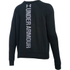 Under Armour Women's Favourite Fleece Crew Sweatshirt - Black: Image 2