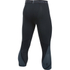 Under Armour Men's HeatGear SuperVent 3/4 Leggings - Black/Stealth Grey: Image 2
