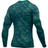 Under Armour Men's ColdGear Jacquard Crew Long Sleeve Shirt - Nova Teal: Image 2