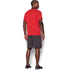 Under Armour Men's Jacquard Tech Short Sleeve T-Shirt - Red: Image 5