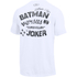 Under Armour Men's Retro Batman Short Sleeve T-Shirt - White: Image 2