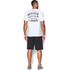 Under Armour Men's Retro Batman Short Sleeve T-Shirt - White: Image 5