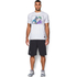 Under Armour Men's Retro Batman Short Sleeve T-Shirt - White: Image 3
