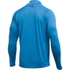 Under Armour Men's Tech 1/4 Zip Long Sleeve Top - Brilliant Blue/Stealth Grey: Image 2