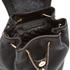Diane von Furstenberg Women's Love Power Leather Backpack - Black: Image 4