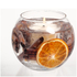 Stoneglow Cinnamon and Orange Natural Wax Fishbowl: Image 1