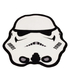 Star Wars Classic Stormtrooper Shaped Rug - 79 x 74cm: Image 1