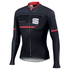 Sportful Gruppetto Thermal Long Sleeve Jersey - Black: Image 1