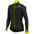 Sportful Force Thermal Long Sleeve Jersey - Black/Yellow: Image 1