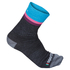 Sportful Women's Wool 14 Socks - Grey/Turquoise: Image 1