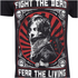 The Walking Dead Men's Fight the Dead T-Shirt - Black: Image 3