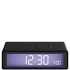 Lexon Flip Clock - Black: Image 1