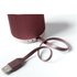 Lexon Fine Rechargeable Bluetooth Speaker - Burgundy: Image 3