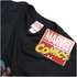 Marvel Men's Comic Strip Logo T-Shirt - Black: Image 2
