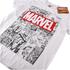 Marvel Herren Mono Comic T-Shirt - Weiß: Image 2