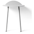 Menu Yeh Wall Table - Light Grey: Image 2