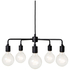 Menu Leonard Chandelier - Black: Image 1