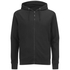 Dissident Men's Cobden Pique Zip Through Hoody - Black: Image 1