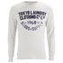 Tokyo Laundry Men's Point Hendrick Long Sleeve Top - Oatgrey Marl: Image 1