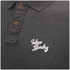 Tokyo Laundry Men's Willowood Polo Shirt - Charcoal Marl: Image 3