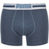 Puma Men's 2-Pack Placed Logo Boxers - Blue: Image 2