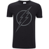 DC Comics Mens The Flash Line Logo T-Shirt - Zwart: Image 1