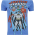 DC Comics Men's Justice League T-Shirt - Heather Royal: Image 5