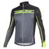 Nalini Confine Ti Long Sleeve Jersey - Black/Fluro Yellow: Image 1