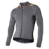 Nalini Pro Gara Ti Long Sleeve Jersey - Grey/Orange: Image 1