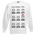 Star Wars Men's Stormtrooper Emotions Christmas Sweatshirt - White: Image 1