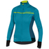 Castelli Women's Trasparente 3 Long Sleeve Jersey - Turquoise/Blue: Image 1