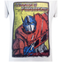 Transformers Mens Optimus Prime T-Shirt - Wit: Image 2