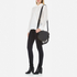 Rebecca Minkoff Women's Large Multi Tassel Saddle Bag - Black: Image 2