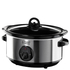 Russell Hobbs 19790 3.5L Home Slow Cooker - Stainless Steel: Image 1
