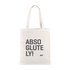 Myprotein Absoglutely Slogan Canvas Tas: Image 1