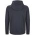 Animal Men's Bedrock Zip Through Hoody - Total Eclipse Navy Marl: Image 2