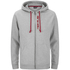 Animal Men's Safou Zip Through Hoody - Grey Marl: Image 1