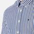 Hackett London Men's Classic Check Shirt - Navy: Image 5
