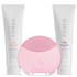 FOREO Holiday Cleansing Collection - (LUNA Mini) Petal Pink (Worth $145): Image 1