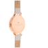 Olivia Burton Women's Big Dial Vegan Watch - Nude & Rose Gold: Image 7