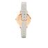 Olivia Burton Women's White Dial Watch - Grey/Rose Gold: Image 2