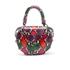 SALAR Women's Mimi Ring Snake Bag - Verde/Rosso: Image 6