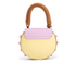 SALAR Women's Mimi Mini Bag - Marrone/Lilla: Image 6