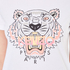 KENZO Women's Printed Tiger On Cotton Single Jersey T-Shirt - White: Image 6