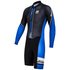 Santini Dirt Shell Aquazero Cyclocross Fleece Body Suit - Black/Blue: Image 1