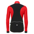 Santini Polar Windstopper Winter Jacket - Red: Image 3