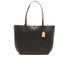 Lauren Ralph Lauren Women's Milford Olivia Tote Bag - Black/Camel: Image 1