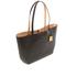 Lauren Ralph Lauren Women's Milford Olivia Tote Bag - Black/Camel: Image 3